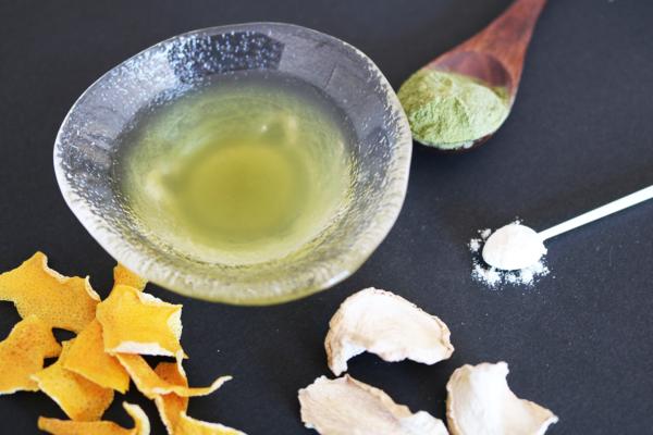 ジンジャエール緑茶│フレーバー緑茶