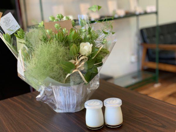 山形市ハマースミスさんからお祝いを頂きました│フレーバー緑茶専門店フレーバーグリーン